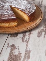 Sponge cake of lemon
