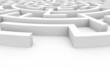 canvas print picture - labyrinth