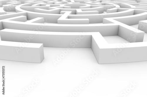 canvas print picture labyrinth