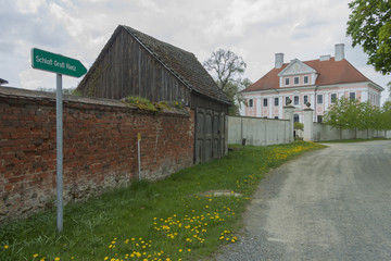 Schloss Groß Rietz und Hütte