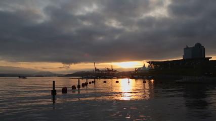 Sunrise Floatplane, Coal Harbor, Vancouver