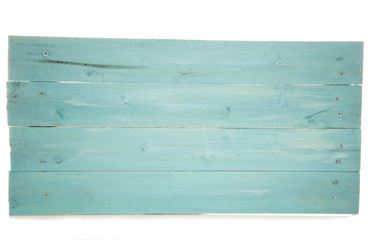 rustic turquoise wooden pallet sign