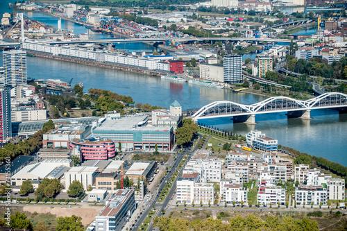 canvas print picture Ludwigshafen Stadt am Rhein Mannheim Heidelberg
