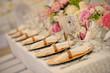 Leinwandbild Motiv Beautiful table setting