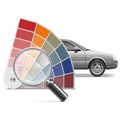 Vector Color Choice for Car