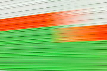 Abstract image of colors motion blur. Defocused