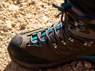 Tracking hiking boots shoes