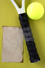 Handle tennis racket