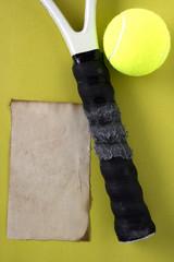 Handle tennis racket