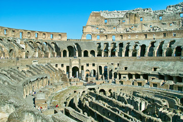Colosseo. Interno