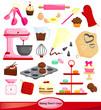 Baking vector set - 73160132