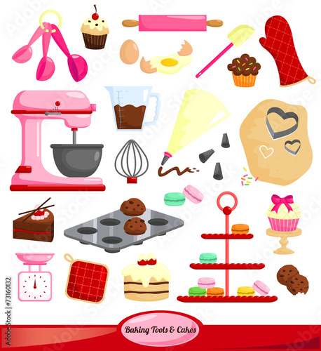 Baking vector set - 73160132