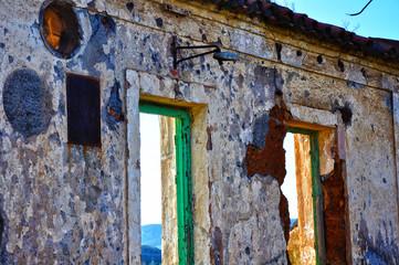 Puertollano, ruinas del poblado de la Mina Asdrúbal