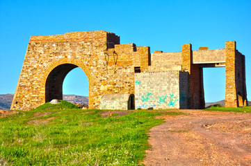 Puertollano, pozo Nueva Aurora, arqueología industrial