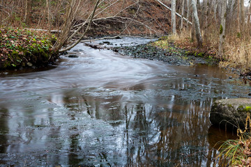 River stream.