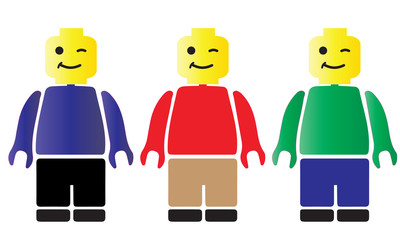 Lego Trio