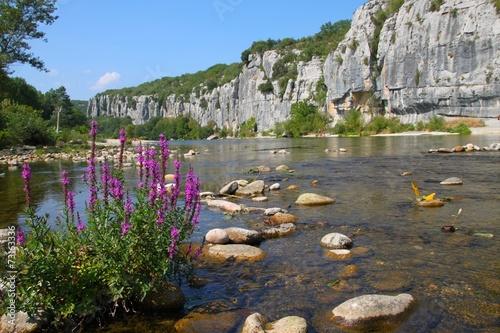 Papiers peints Riviere Gorges de Chassezac, Ardèche