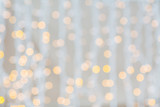Fototapety blurred glden lights background