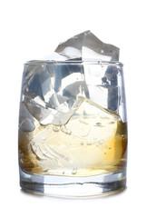 Ice on jar