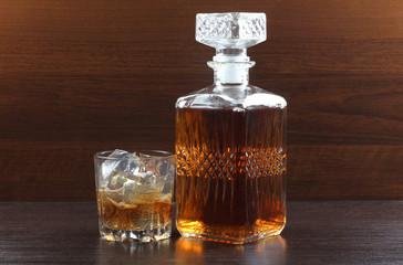 Whiskey on darck