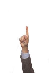 parmak kaldırmak