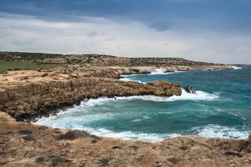 Cyprus - coastline of south east Cyprus