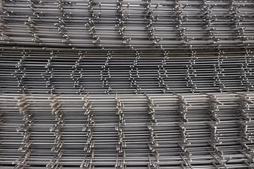 Reinforcement steel mesh background 2