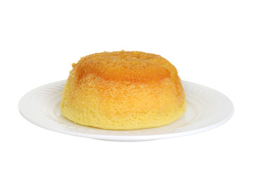 isolated treacle pudding