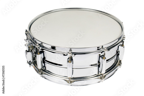 snare drum isolated on white - 73165135