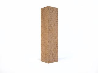 Brick Letter I