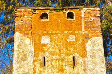 Puertollano, mina Asdrúbal, detalle de un palomar