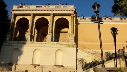 Belvedere del pincio Roma