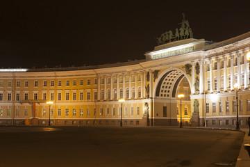 Санкт-Петербург. Дворцовая площадь. Здание Главного штаба