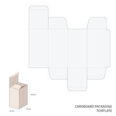 Vector packaging template