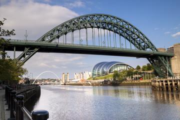Bridges over the river Tyne, Newcastle,England