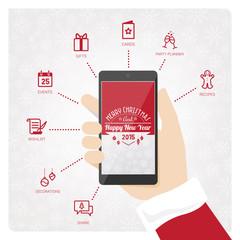 Santa's smartphone