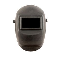 welding mask with black safety glass