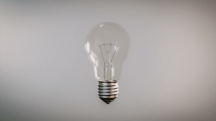 Innovation from incandescent to fluorescent light bulb