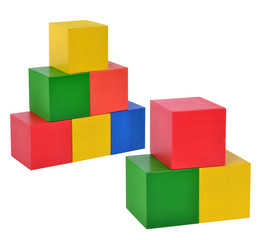 toy wooden blocks stack
