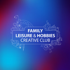 Leisure and Hobbies Vector Design