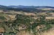 canvas print picture - Blick auf die Landschaft rund um Ronda,Spanien