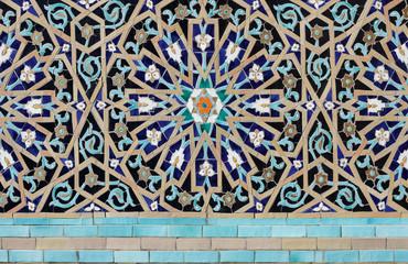 Mosaic pattern texture