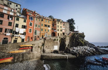 Italy, Liguria, Le Cinque Terre, Riomaggiore