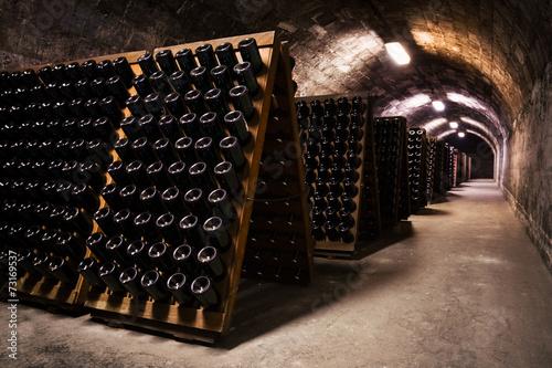 Staande foto Industrial geb. beverage storage cellar