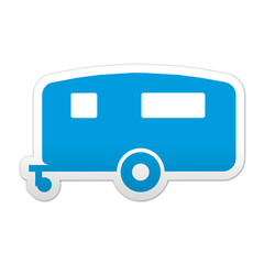 Pegatina simbolo caravana