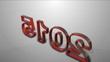 motion graphic new year 2015 animation 3D