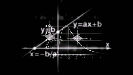 Mathematics and Science Background (Black)