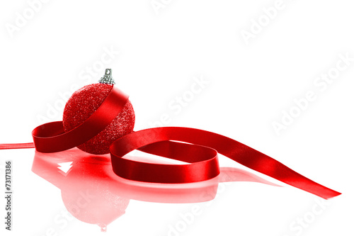 canvas print picture Christmas ball