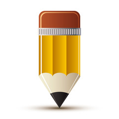 Yellow pencil icon.