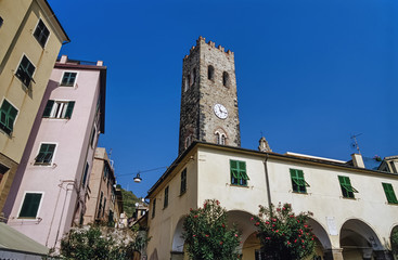 Italy, Liguria, Le Cinque Terre, Monterosso - FILM SCAN